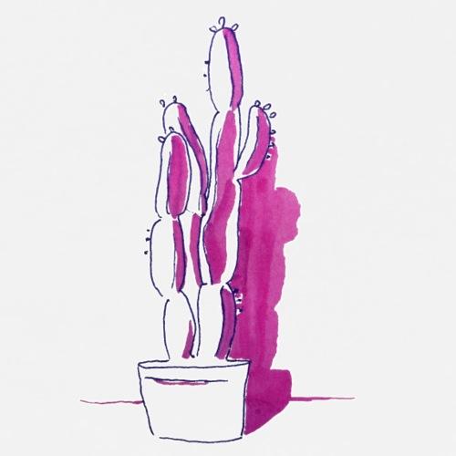 Kaktus Marrakesch No 2 - Männer Premium T-Shirt