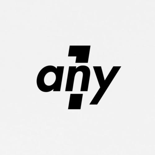 any1 logo - Männer Premium T-Shirt