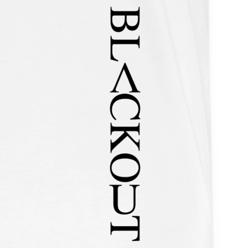 Blackout Side - Premium-T-shirt herr
