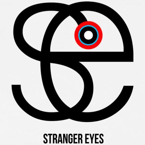 Stranger eyes coeur - T-shirt Premium Homme