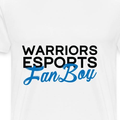 WARRIORS ESPORTS - FANBOY BLACK - T-shirt Premium Homme
