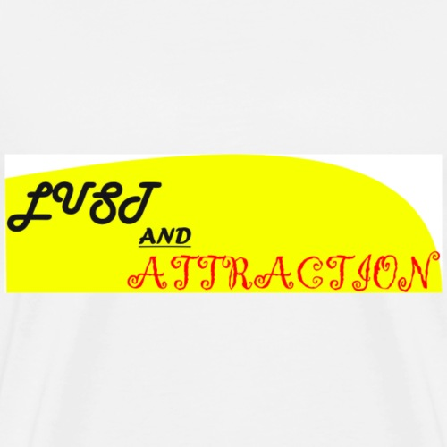 lust ans attraction - Men's Premium T-Shirt