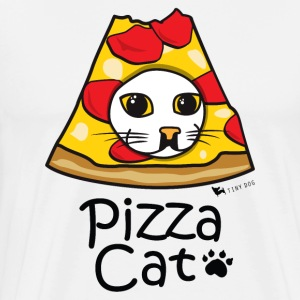 Pizza Cat - T-shirt Premium Homme