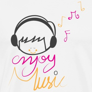 ENJOY MUSIC - Men's Premium T-Shirt