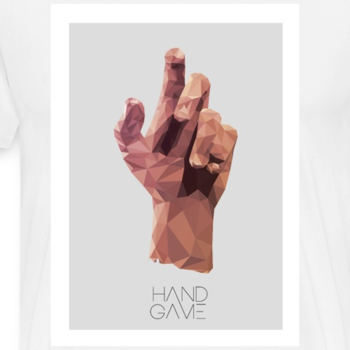 Hand Game Design - T-shirt Premium Homme