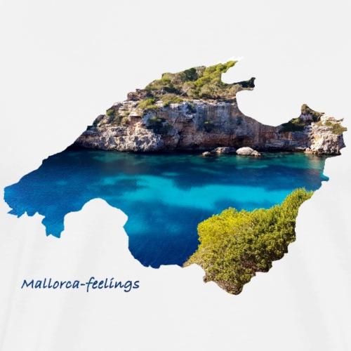 Mallorca-feelings Bucht 2 - Männer Premium T-Shirt