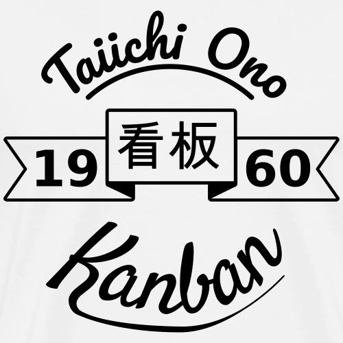 Hommage à Taiichi Ono - Kanban - 1960 - T-shirt Premium Homme