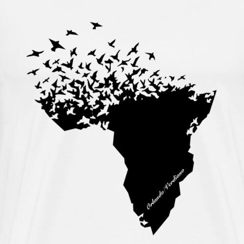 Flying/Africa - T-shirt Premium Homme
