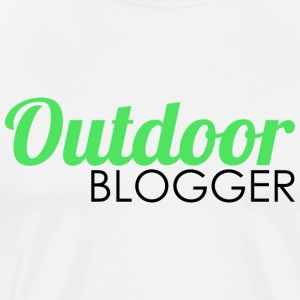 Outdoor blogger - Men's Premium T-Shirt