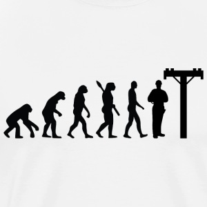 Evolution Elektriciens Electrical Black - Mannen Premium T-shirt