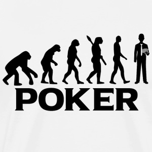 Evolution bt poker poker - Mannen Premium T-shirt