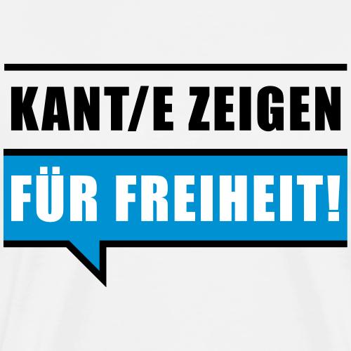 Für Freiheit - Männer Premium T-Shirt