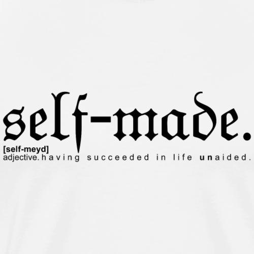 SELF-MADE WB - Men's Premium T-Shirt
