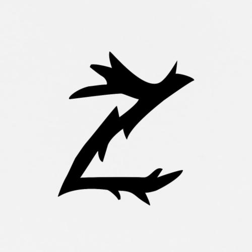 Z logo sort - Premium T-skjorte for menn