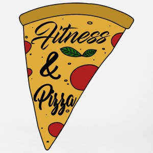 Fitness & Pizza - Männer Premium T-Shirt