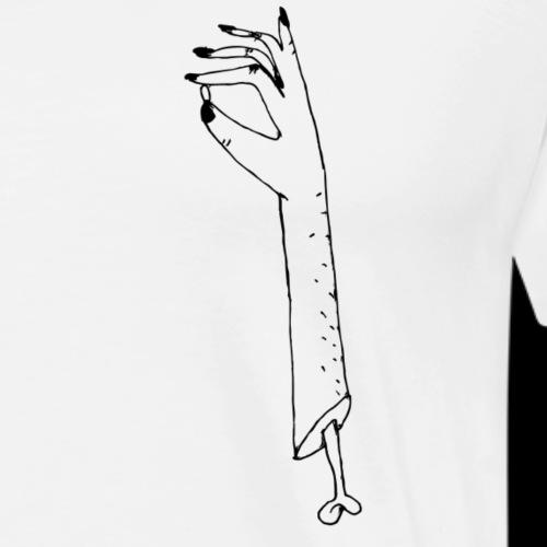 Arm ab - Männer Premium T-Shirt