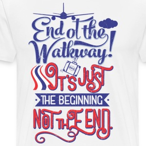 Bangkok Airport End of the Walkway - T-shirt Premium Homme