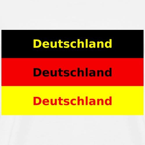 3xDeutschland - Männer Premium T-Shirt