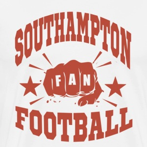 Southampton Football Fan - Premium T-skjorte for menn