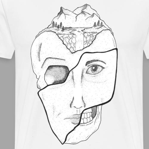 Voyageur Immobile - La valse à mille points - T-shirt Premium Homme