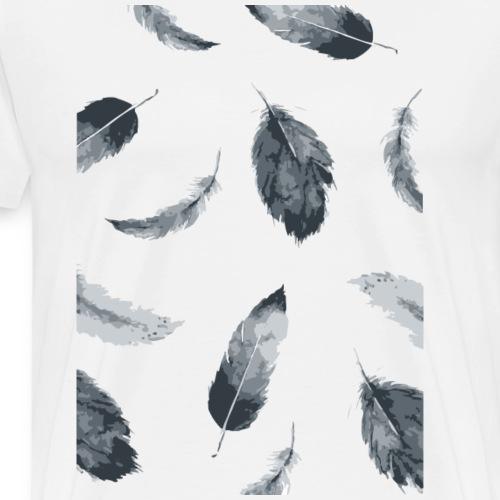 Federn - Männer Premium T-Shirt