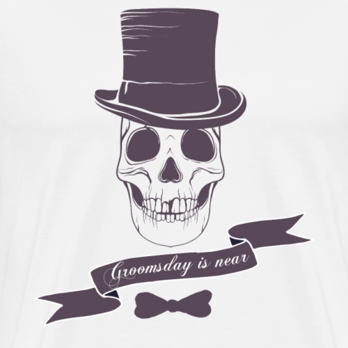 Groomsday is near - Männer Premium T-Shirt