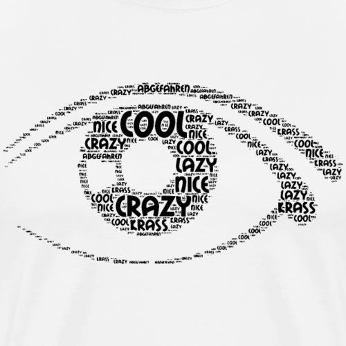 Auge - 02 - Männer Premium T-Shirt