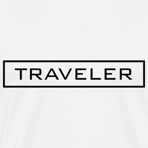TRAVELER - Maglietta Premium da uomo