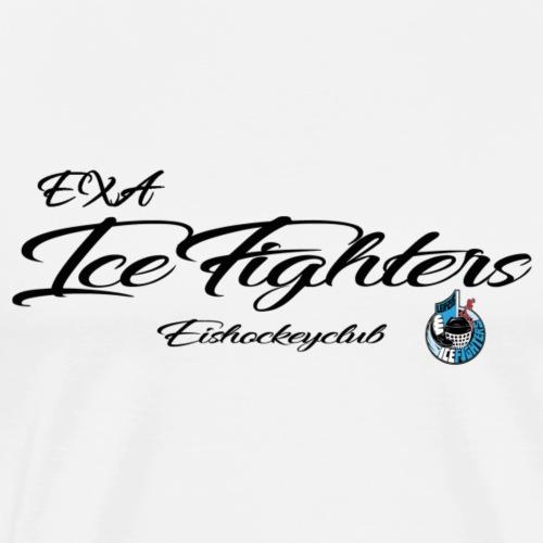 EXA IceFighters Eishockeyclub - Männer Premium T-Shirt