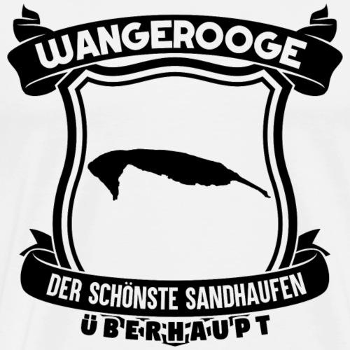 Sandhaufen Wangerooge - Männer Premium T-Shirt