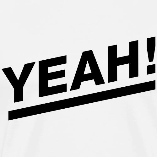 Yeah! Solo - Männer Premium T-Shirt