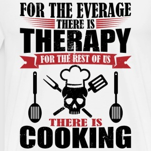 Awesome cooking therapy - Men's Premium T-Shirt