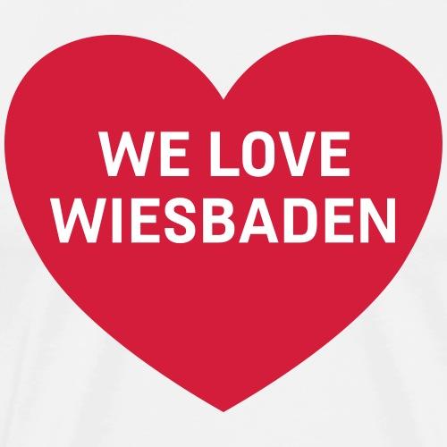 we love wiesbaden - Männer Premium T-Shirt