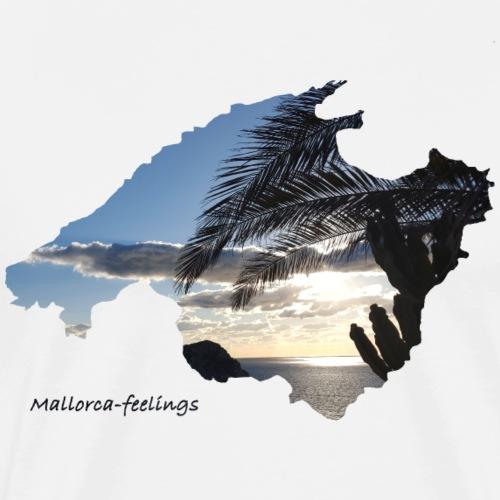 mallorca-feelings Palme 2 - Männer Premium T-Shirt
