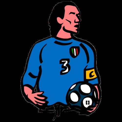 Il Capitano, 3 | Mata Club Football Culture - Maglietta Premium da uomo