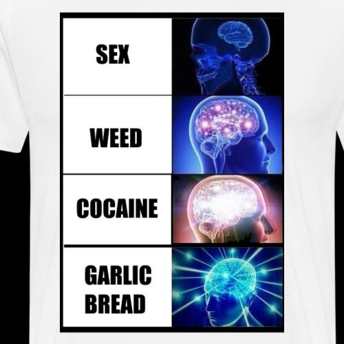 Expand the BRAIN - Mannen Premium T-shirt