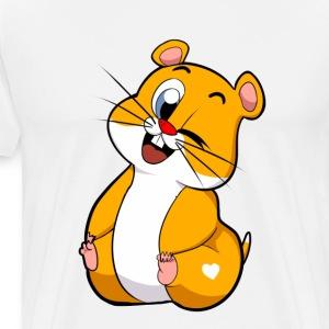 Steppi HAMSTER - Männer Premium T-Shirt