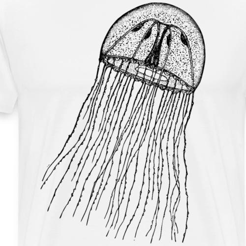 Qualle aus dem Meer - Männer Premium T-Shirt