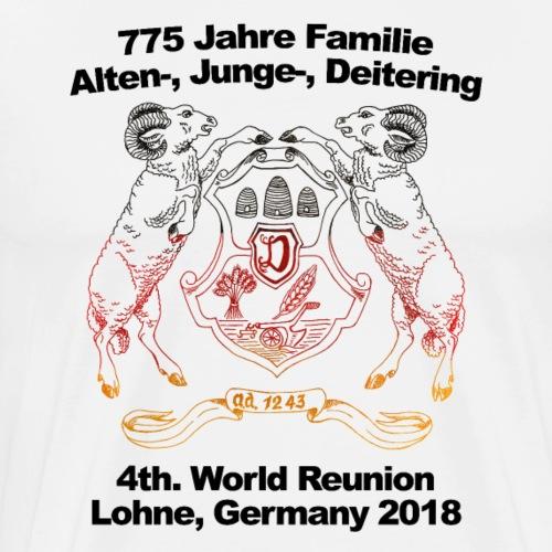 4. internationales Ahnentreffen - WM Version - Männer Premium T-Shirt
