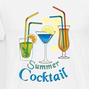 Sommer-Cocktail - Männer Premium T-Shirt