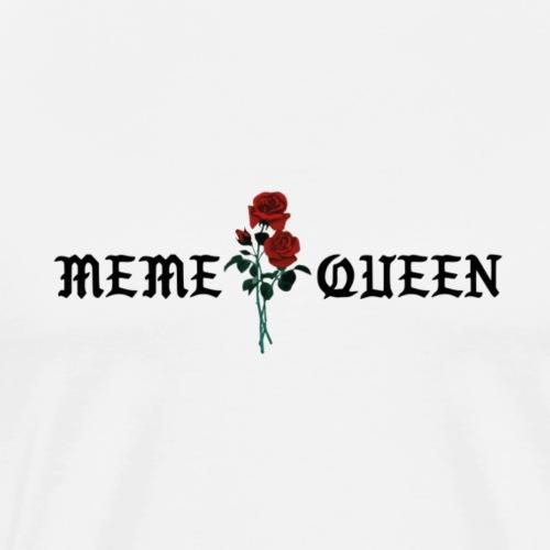 Meme queen rose - Männer Premium T-Shirt