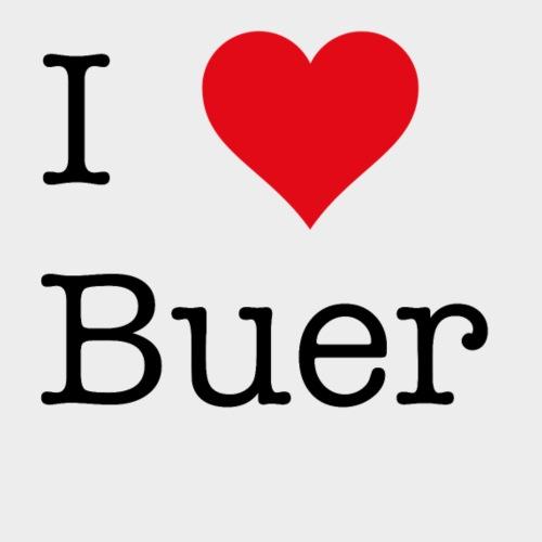 I Love Buer - Männer Premium T-Shirt