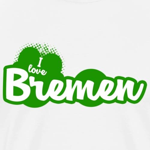 I Love Bremen - Männer Premium T-Shirt