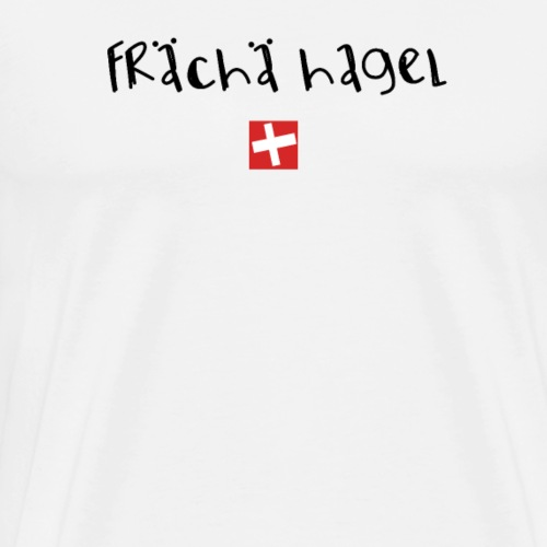 NEU! frech | Schweizer Sprüche | Geschenk - Männer Premium T-Shirt