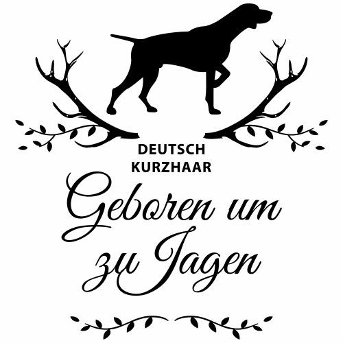 Deutsch Kurzhaar Geboren um zu Jagen hoch - Männer Premium T-Shirt