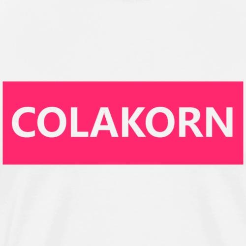 COLAKORN Pink - Männer Premium T-Shirt