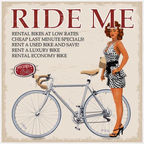 Ride Me - Fahre Fahrrad - Männer Premium T-Shirt