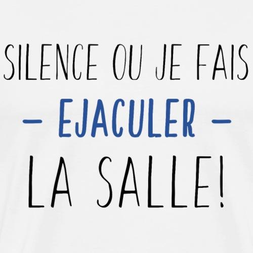 Ejaculer La Salle - Noir Bleu - T-shirt Premium Homme