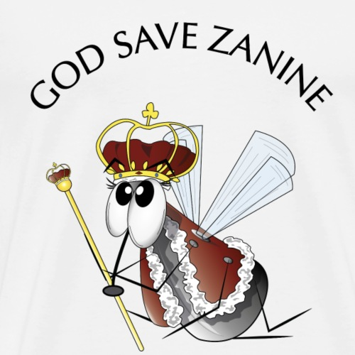 God save Zanine - T-shirt Premium Homme