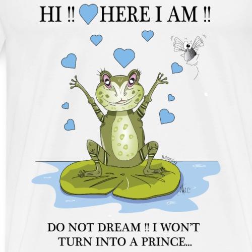 Marcy Valentine's day prince - T-shirt Premium Homme